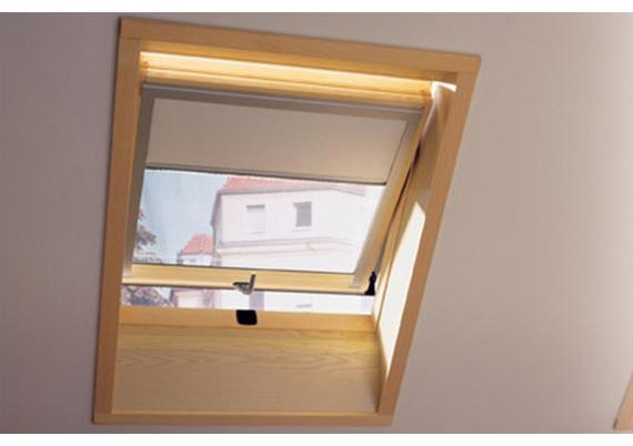 Roller blinds for roof windows
