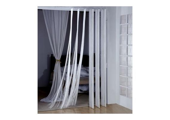 Vertical string blinds